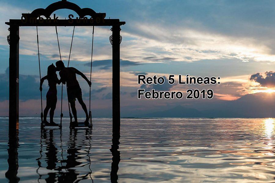 Reto 5 Líneas: Febrero 2019