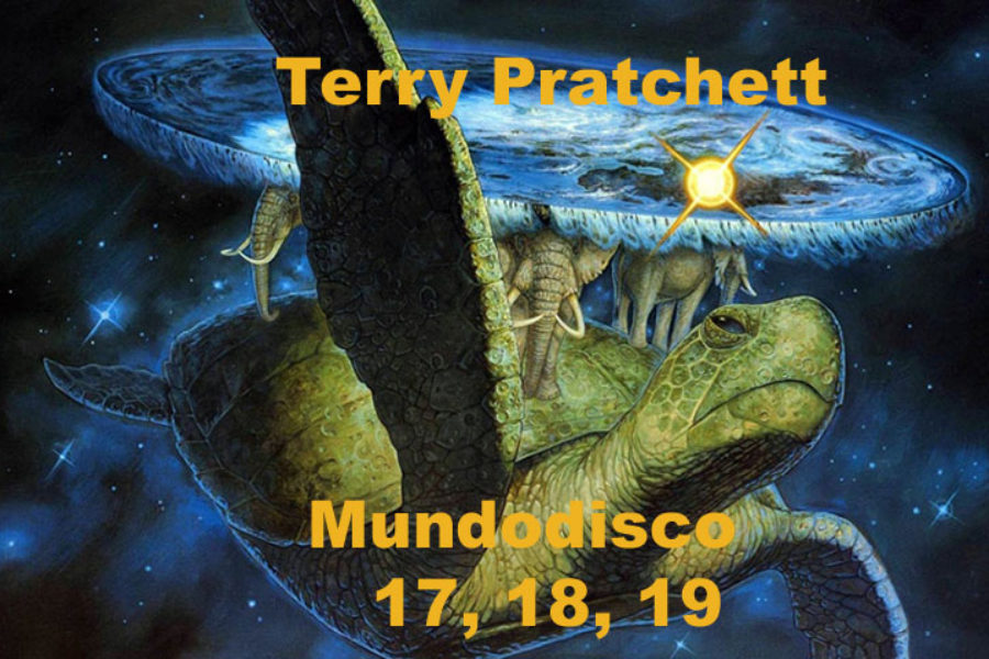Terry Pratchett: Mundodisco 17, 18, 19.