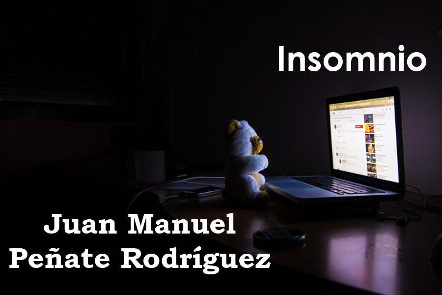 Insomnio. Juan Manuel Peñate Rodríguez.